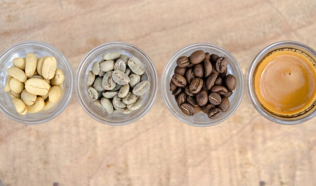 Cafe Letefoho Coffee - Beans to Coffee in cups